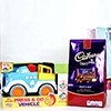 Dairy Milk Chocolate with Press and Go Vehicle