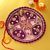 Decorated Bhaidooj Pooja Thali