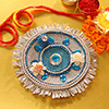 Decorated Bhaidooj Tikka Thali