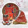 Decorated Karwa Chauth Pooja Kit