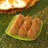 Delicious Kesar Khoya 500 Gms Modak