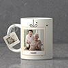 Delightful Personalized Birthday Keychain & Mug combo