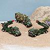 Die Cast Artillery Trucks