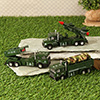 Die Cast Military Trucks
