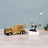 Die Cast Peacekeeping Military Equipments Vehicle Playset