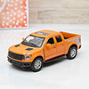 Die Cast Pull Back Series Orange Raptor Car
