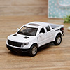 Die Cast Pull Back Series White Raptor Car