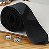 Digital Print Tie with Personalized Cufflinks