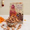 Diwali Card With 200 Gms Almonds