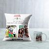 Dream Home Personalized Cushion & Mug for House Warming
