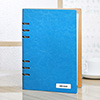 Effervescent Personalized Leatherette Diary - Light Blue