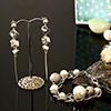 Elegant Bracelet and Earrings Set
