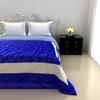 Elegant Cotton Quilt in Royal Blue