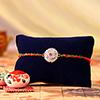 Elegant Premium Stone Rakhi
