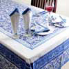 Enchanting Traditional Printed Table Cover