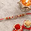 Encircled OM Ganesha AD Rakhi