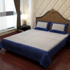 Ethic Bed Sheet in Combination of Royal Blue