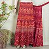 Ethnic Red Long Skirt
