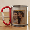 Ever Lasting Love Themed Personalized Steel Mug
