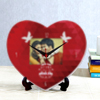 Every Moment Matters Personalized Heart Shaped Clock