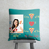 Every piece of me Personalized Birthday Cushion