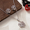 Everyday Wear Hexagon Pendant Set