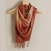 Exclusive Stole in Amber Brown