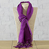 Exclusive Stole in Shaded Plum Color