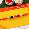 Exquisite Colorful Beaded Rakhi
