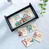 Family Circus Personalized Tray & Coaster (Set of 4)