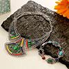 Fashionable Necklace and Bracelet