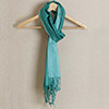 Fashionable Stole in Classic Teal