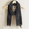 Fashionable Stole in Typical Black