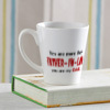 Father-in-Law Special Personalized Conical Mug