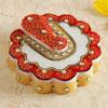 Floral Ganesha Marble Chopra