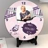 Flower Bird Personalized Anniversary Clock