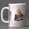 Flower Bird Personalized Anniversary Mug