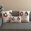 Flowers Personalized Cushions and Pillow set