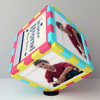 For my Handsome Boyfriend Personalized Birthday Photo Cube