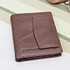 Formal Maroon Wallet for Men