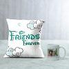 Friends Forever Personalized Cushion & Mug