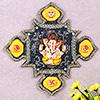 Ganesha Good Luck Wall Hanging