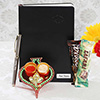 Ganesha Tikka Thali with Personalized Diary & Pen