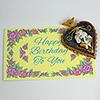 Ganesha Wall Hanging With Birthday Greeting Card