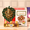 Ganesha Wall Hanging with Pistachios & Ferrero Rocher
