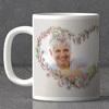 Garlands and Hearts Personalized Anniversary Mug