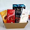 Gift Basket with Lindt Chocolates Flavor
