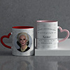 Gift of My Life Personalized Anniversary Mug Set