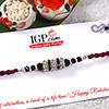 Glittering Crystal Rakhi Thread