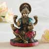 Goddess Lakshmi Brass Idol
